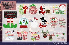 2018 Ultimate Christmas Bundle SVG, DXF, PNG, EPS Comm & Per Product Image 4