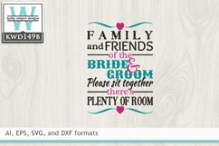Wedding SVG - Family And Friends Product Image 2