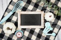 Farmhouse Kitchen Sign Flatlay Craft Mockups Styled Photo Product Image 2