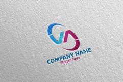 Letter V, A, VA Logo Design 66 Product Image 3