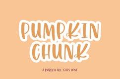 Pumpkin Chunk Sans Font Product Image 1