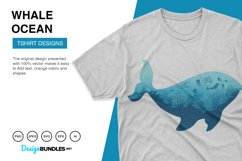 Whale Ocean Vector Illustrations Product Image 2