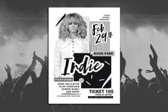 Abstract Indie Music Flyer Product Image 1