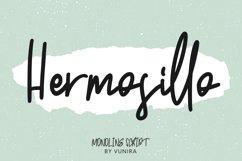 Hermosillo   Monoline Script Product Image 1