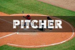 Baseball Slab Outline Font Product Image 5