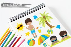 Beach Party  graphics and illustrations Product Image 3