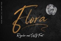 Flora SVG Font Product Image 1