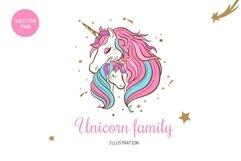 Unicorn t-shirt print children illustration Product Image 1