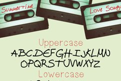 Cassette Tape a Funky Handwritten Font Product Image 2