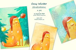 Cozy Winter illustrations Product Image 4