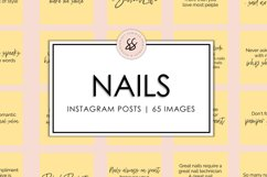Nails Yellow Instagram Posts Product Image 1