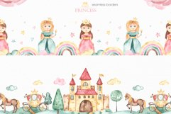 Little princess watercolor Product Image 4