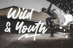 Wild Youth - Brush Script Font Product Image 5