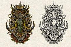 bundles amazing illustration and tatto design symmetrical Product Image 4