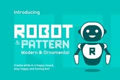 Robot Font Product Image 1