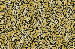 42 Gold Foil Seamless Damask Ornament Transparent Overlays Product Image 3