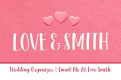 Lovesmith Font Duo Product Image 2