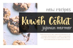 Chocolymes - Boldy Handwriting Script Font Product Image 5