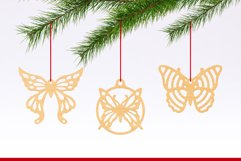Laser Cut Files Vol.2 - 50 Butterfly Ornaments Bundle Product Image 2