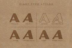 Powell   Rugged Display Typeface Product Image 4