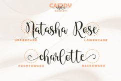 Cardy Abela Font Duo - Bold Sans and Tail Swash Script Product Image 2