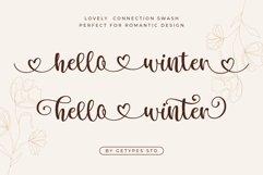 Hello Winter - A Bouncy Handwritten Script Font Product Image 2