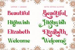 Christmas Knowing - Swirly Serif Font Product Image 2