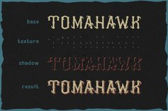 Tomahawk - american authentic font Product Image 3