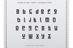 Aora star Font Product Image 5