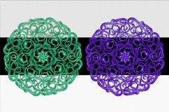 Mandala Printable Transparent Background, Sublimation PNG, Product Image 3