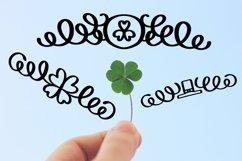 Web Font Lucky Dingbats - A Dingbat St Patrick's Day Font Product Image 2