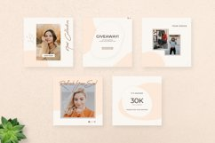 Alani Instagram Puzzle Template - Canva & PSD Product Image 6
