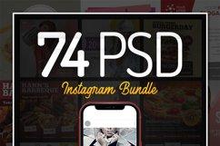 74 PSD Instagram Bundle Product Image 1