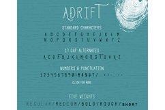 Adrift Font Product Image 2