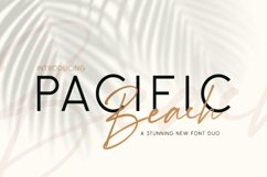 Pacific Beach Font Duo Product Image 1