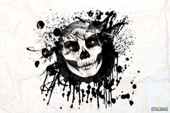 20 Beautiful portrait paint masks, halloween, Photoshop Product Image 3