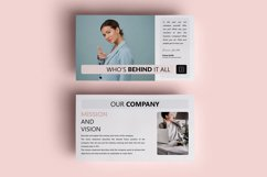 PPT Template | Project Proposal - Pink and Marble Round Product Image 2