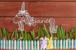 Unicorns - A Unicorn Name Maker Font Product Image 3