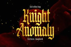 Knight Anomaly Product Image 1