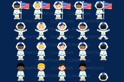 Astronauts in Space Clip Art Product Image 2