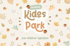 Kidos Park Fun Children Typeface Product Image 1