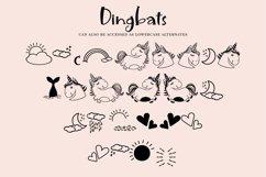 Unicorn Island Font and Dingbats Product Image 3
