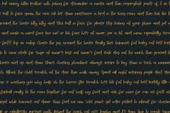 Hello Forty - A Hand-Written Script Font Product Image 2