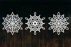 Snowflake SVG, Christmas Snowflakes, Snowflakes Laser Cut Product Image 3