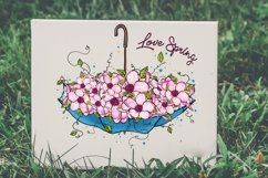 Love Spring PNG, Spring Is Here Product Image 3