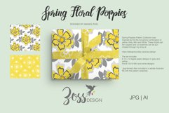 Spring Floral Poppies | Digital paper paper designs|Patterns Product Image 3
