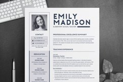 TEACHER Resume Template for MS Word | 2 Page Resume Product Image 1