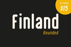 Finland Rounded - Font Family Product Image 1