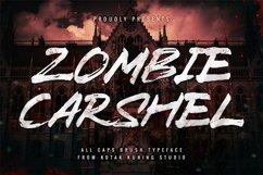 Brush Font - Zombie Carshel Product Image 2