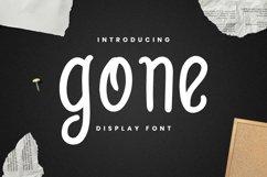Web Font Gone Font Product Image 1